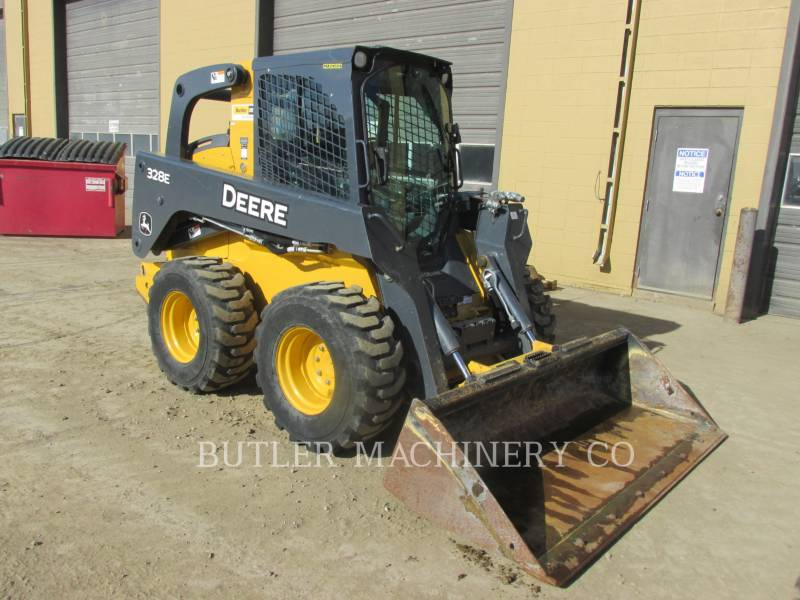 DEERE & CO. 滑移转向装载机 328E equipment  photo 2
