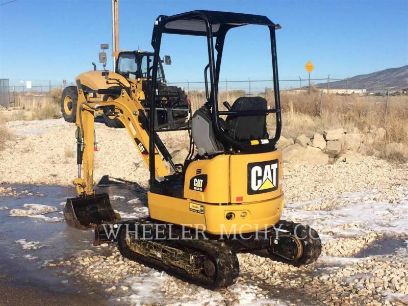 CATERPILLAR TRACK EXCAVATORS 301.7D C1T equipment  photo 4