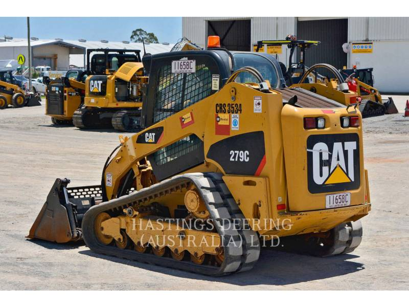 CATERPILLAR CARGADORES MULTITERRENO 279C equipment  photo 7