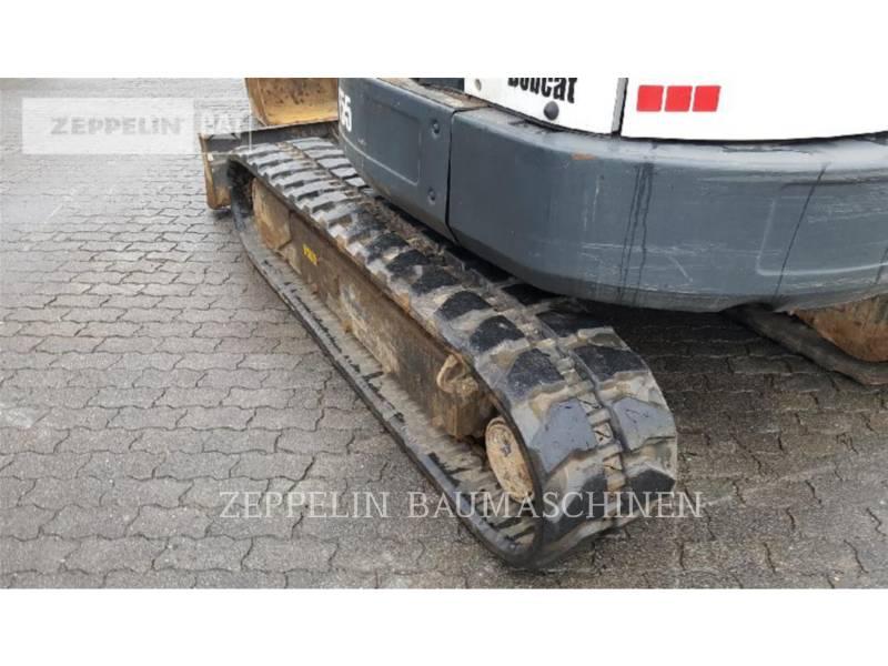 BOBCAT KETTEN-HYDRAULIKBAGGER E55 equipment  photo 5