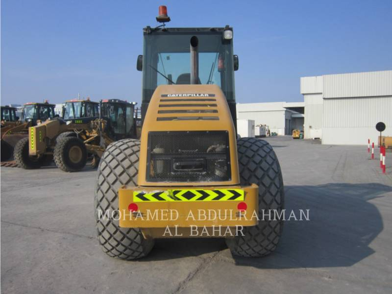 CATERPILLAR COMPACTEUR VIBRANT, MONOCYLINDRE LISSE CS 533 E equipment  photo 4
