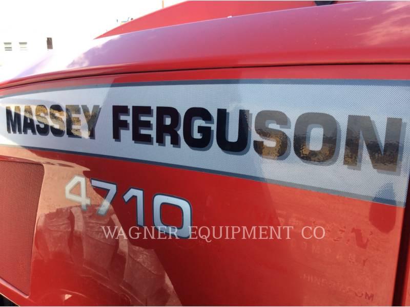 MASSEY FERGUSON TRACTEURS AGRICOLES MF4710 equipment  photo 21