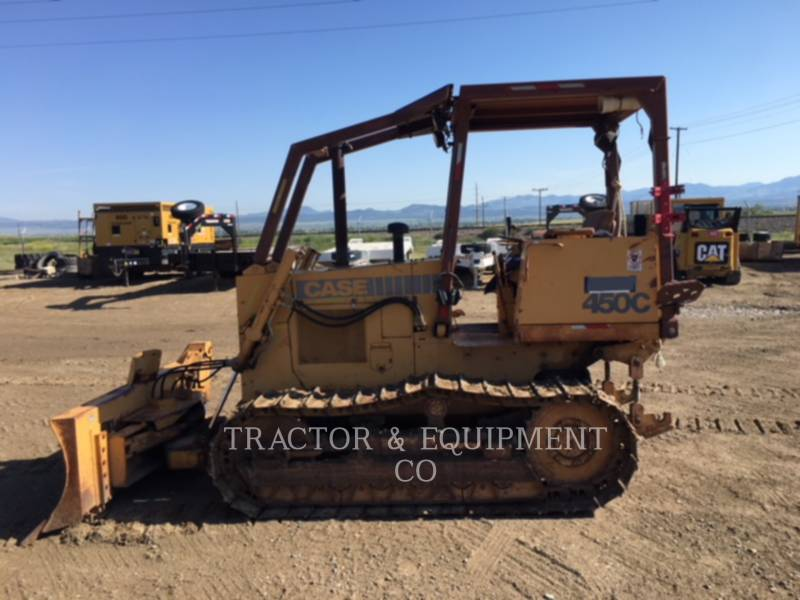 CASE TRACK TYPE TRACTORS 450C equipment  photo 1