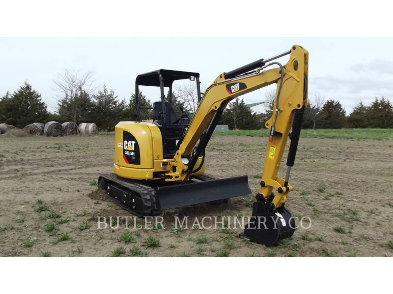 CATERPILLAR TRACK EXCAVATORS 303.5 E2 CR equipment  photo 2
