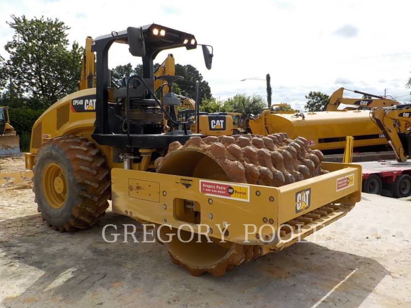 CATERPILLAR VIBRATORY SINGLE DRUM PAD CP54B equipment  photo 4