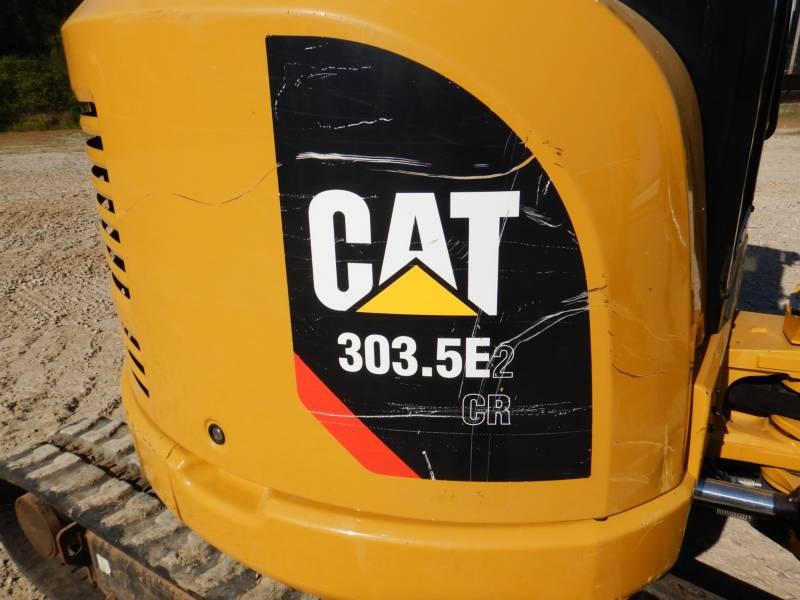 CATERPILLAR KETTEN-HYDRAULIKBAGGER 303.5E2CR equipment  photo 24