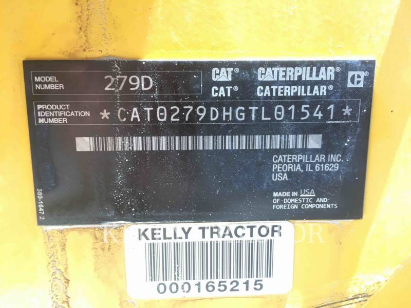 CATERPILLAR CARREGADEIRAS TODO TERRENO 279D equipment  photo 16