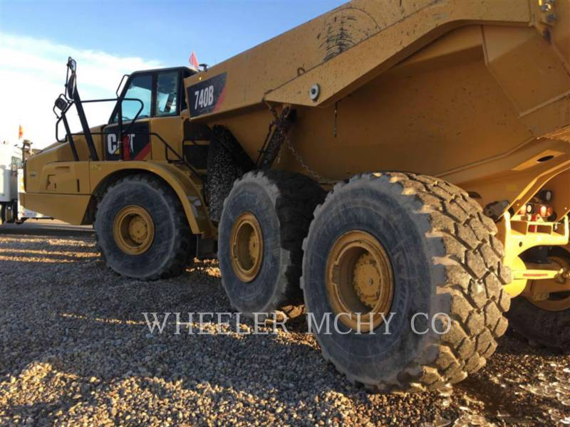 CATERPILLAR CAMIONES ARTICULADOS 740B TG equipment  photo 3