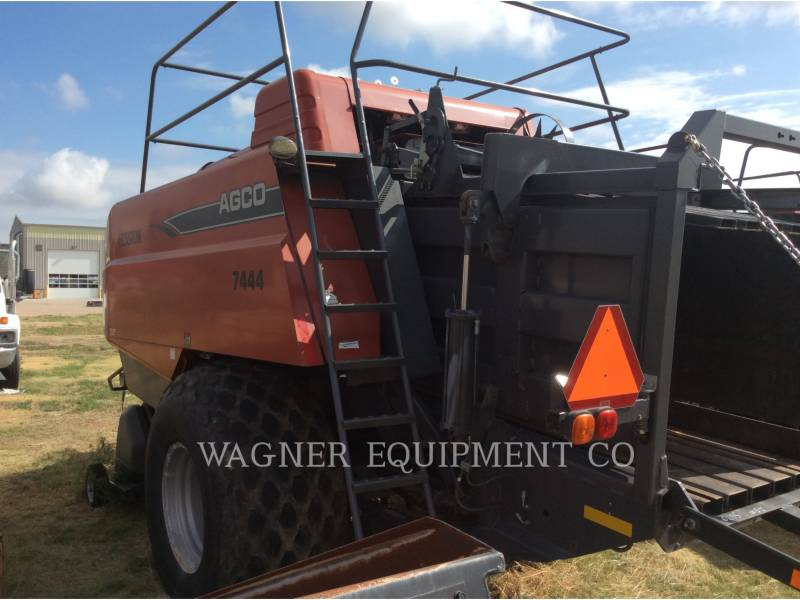 HESSTON CORP MATERIELS AGRICOLES POUR LE FOIN 7444 equipment  photo 6