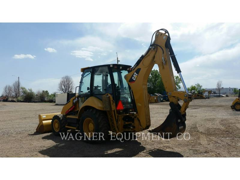 CATERPILLAR BACKHOE LOADERS 416F 4WD equipment  photo 2