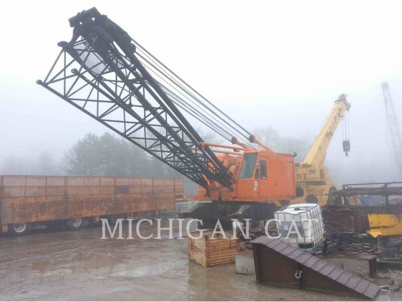 LINK-BELT CONSTRUCTION CRANES LS-518 equipment  photo 2