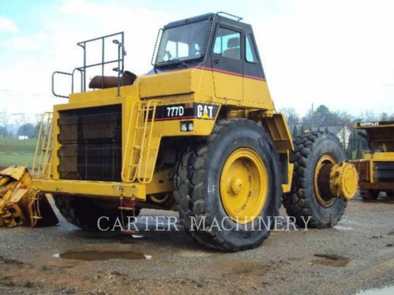 CATERPILLAR WOZIDŁA TECHNOLOGICZNE 777D equipment  photo 3