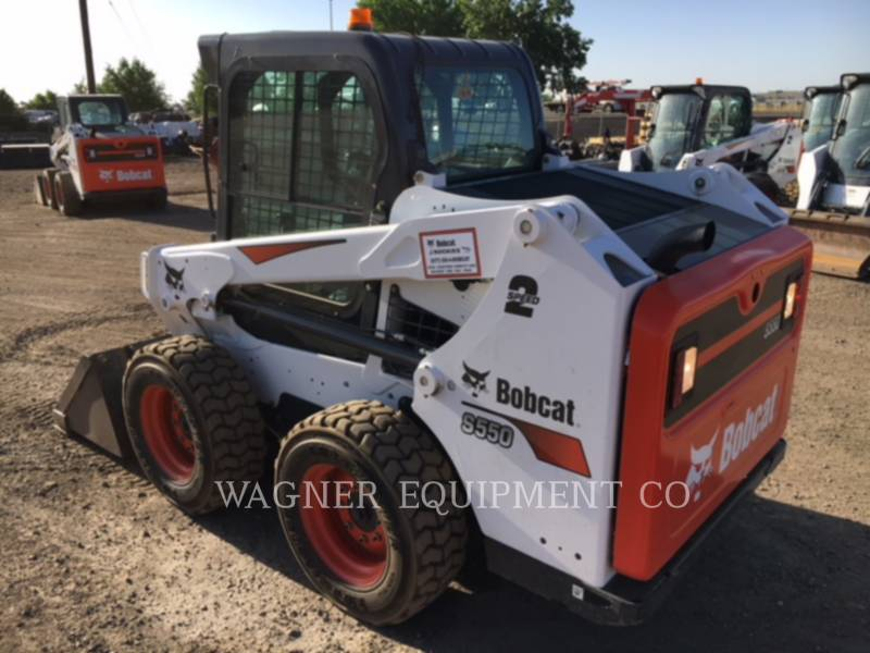 BOBCAT KOMPAKTLADER S550 equipment  photo 3