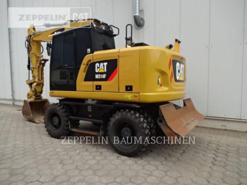 CATERPILLAR PELLES SUR PNEUS M314F equipment  photo 3