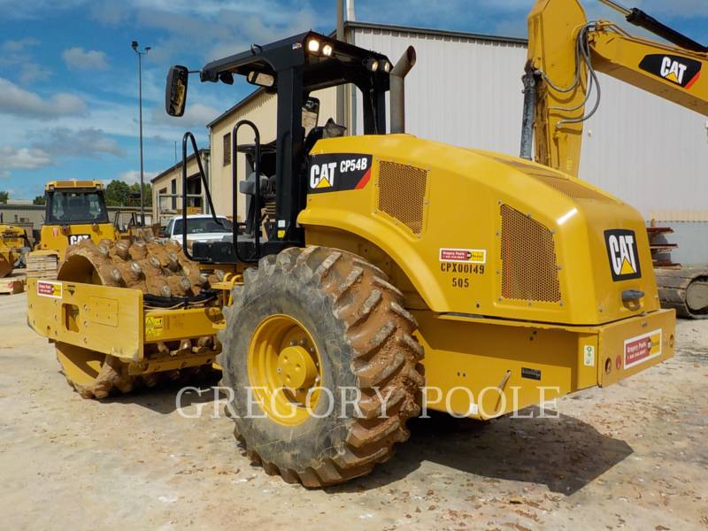 CATERPILLAR EINZELVIBRATIONSWALZE, BANDAGE CP54B equipment  photo 9