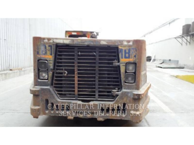 CATERPILLAR UNDERGROUND MINING LOADER R1600G equipment  photo 5