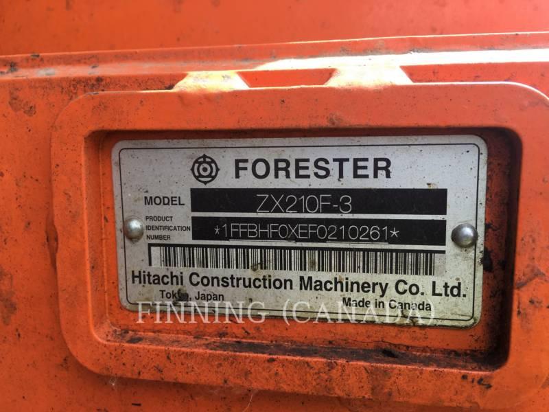 HITACHI Forestal - Procesador ZX210F-3 equipment  photo 10