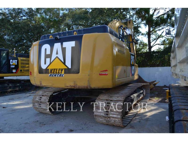 CATERPILLAR TRACK EXCAVATORS 330FL equipment  photo 3