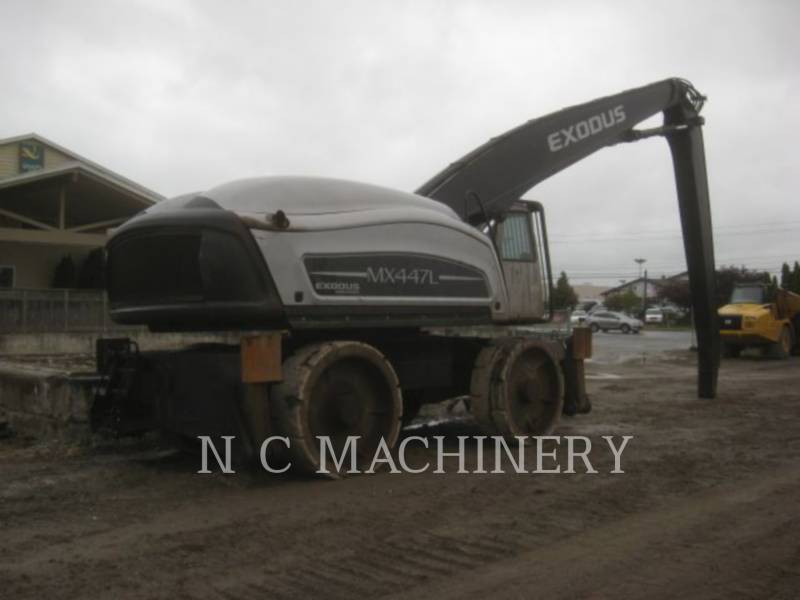 EXODUS TRACK EXCAVATORS MX447L equipment  photo 3