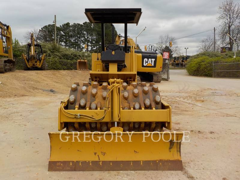 CATERPILLAR COMPACTEUR VIBRANT, MONOCYLINDRE À PIEDS DAMEURS CP-433C equipment  photo 11
