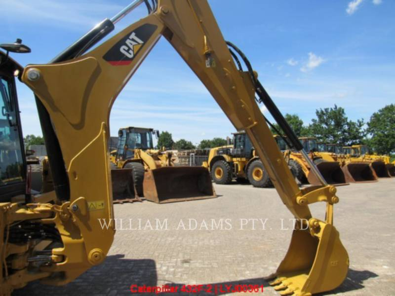 CATERPILLAR BACKHOE LOADERS 432F2LRC equipment  photo 21