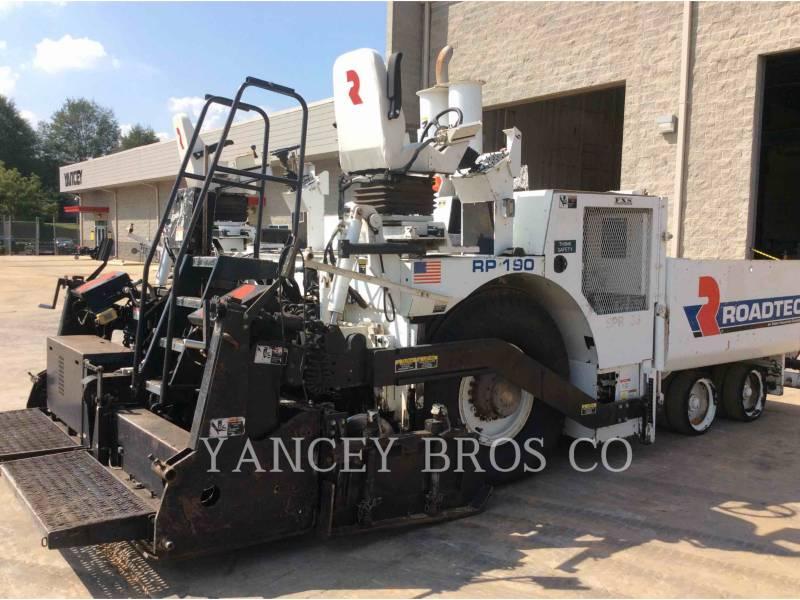 ROADTEC PAVIMENTADORA DE ASFALTO RP190 equipment  photo 2