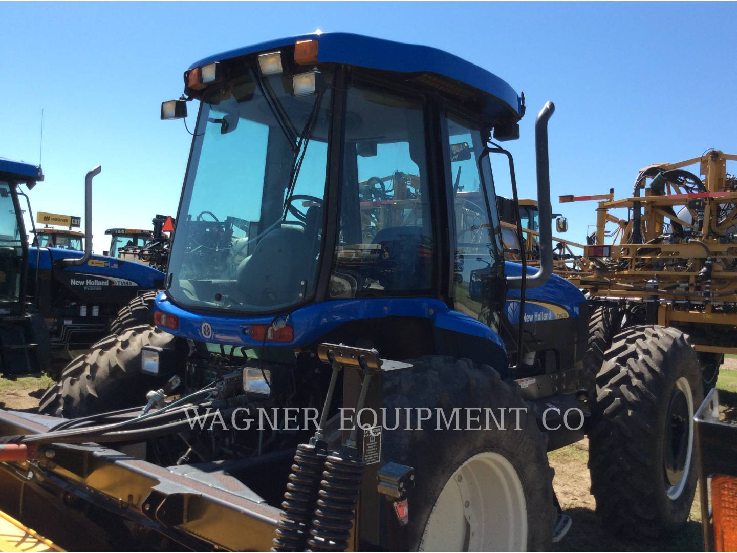 Detail photo of 2005 New Holland TV145 from Construction Equipment Guide