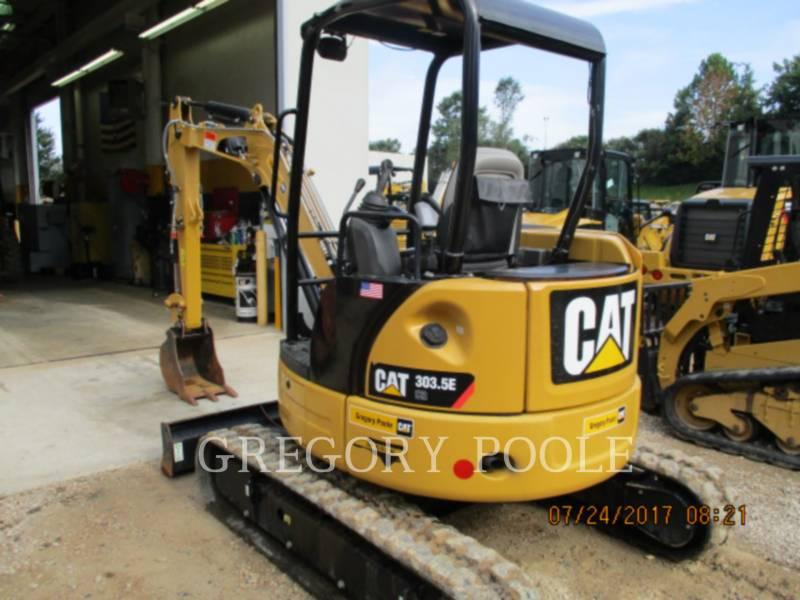 CATERPILLAR TRACK EXCAVATORS 303.5E CR equipment  photo 4