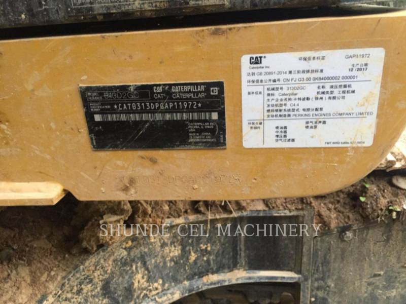 CATERPILLAR PELLES SUR CHAINES 313D2GC equipment  photo 2