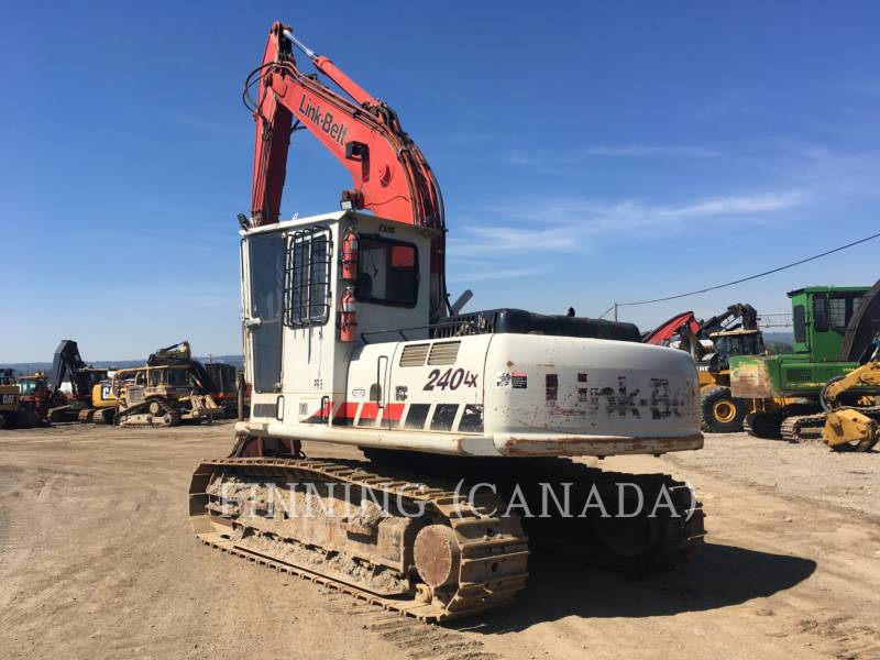 LINK-BELT CONSTRUCTION FORESTRY - PROCESSOR 240LX equipment  photo 3