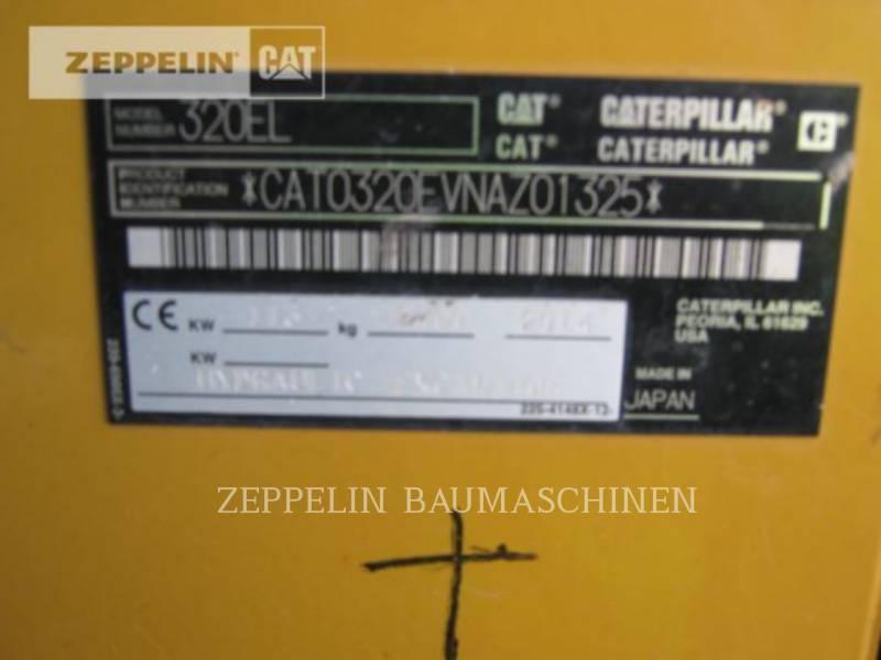 CATERPILLAR PELLES SUR CHAINES 320EL equipment  photo 10