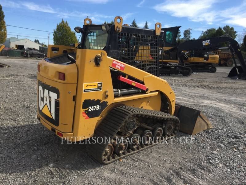 CATERPILLAR SKID STEER LOADERS 247B3 equipment  photo 3