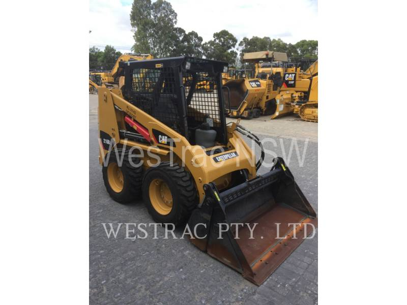 CATERPILLAR SKID STEER LOADERS 216B3LRC equipment  photo 2
