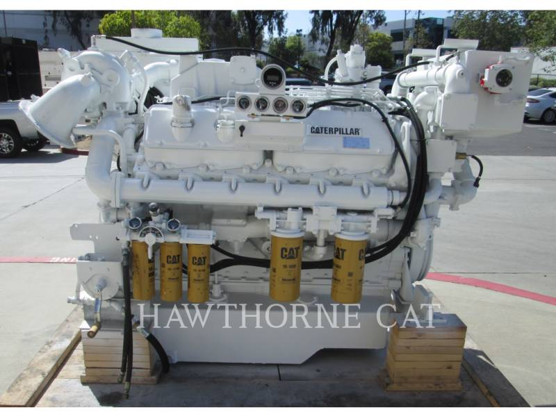 CATERPILLAR MARINE PROPULSION / AUXILIARY ENGINES 3412 DITA equipment  photo 1