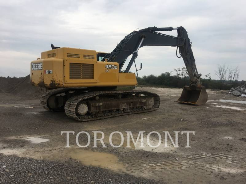 DEERE & CO. TRACK EXCAVATORS 450DL equipment  photo 6