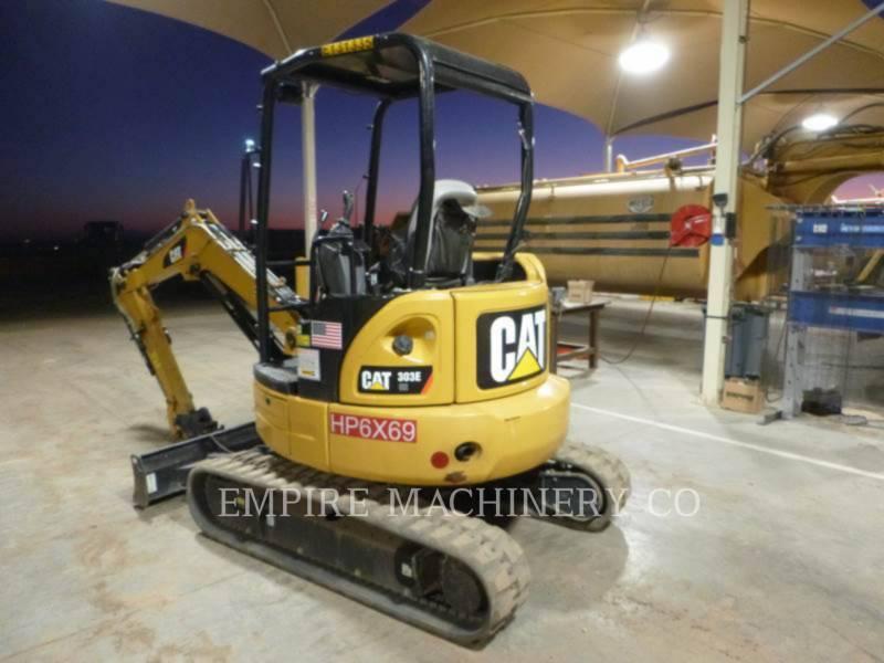 CATERPILLAR EXCAVADORAS DE CADENAS 303E OR equipment  photo 3