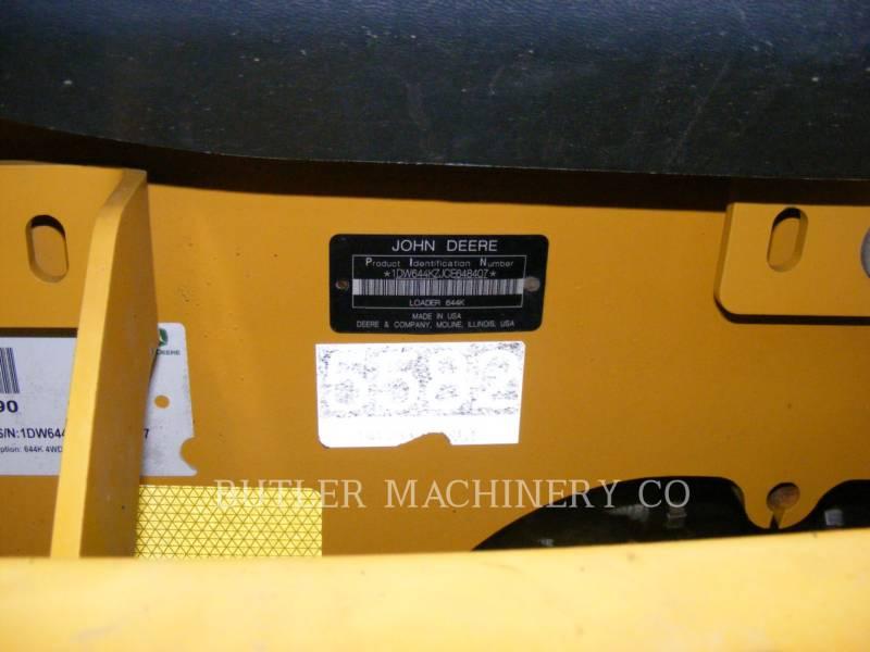 DEERE & CO. RADLADER/INDUSTRIE-RADLADER 644K equipment  photo 10