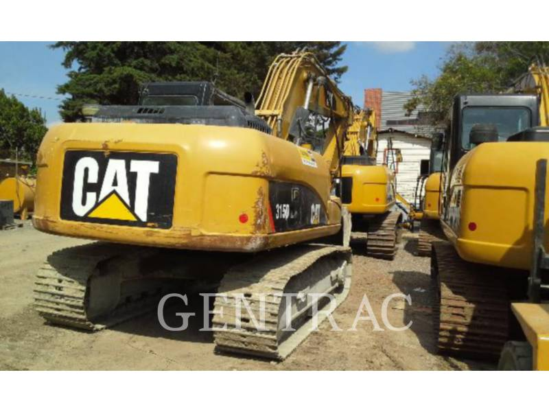 CATERPILLAR KOPARKI GĄSIENICOWE 315DL equipment  photo 2