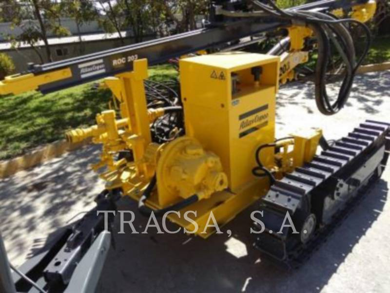 ATLAS-COPCO FOREZE HIDRAULICE PE ŞENILE ROC203 equipment  photo 4