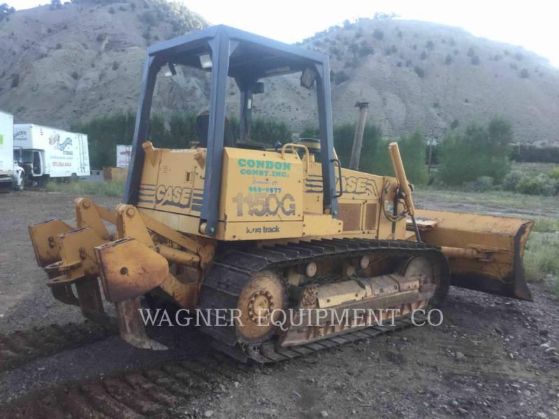 CASE TRACTOREN OP RUPSBANDEN 1150G equipment  photo 3