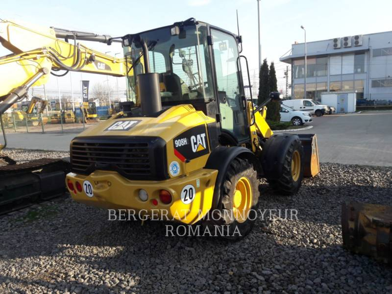 CATERPILLAR CARGADORES DE RUEDAS 908 H2 equipment  photo 3