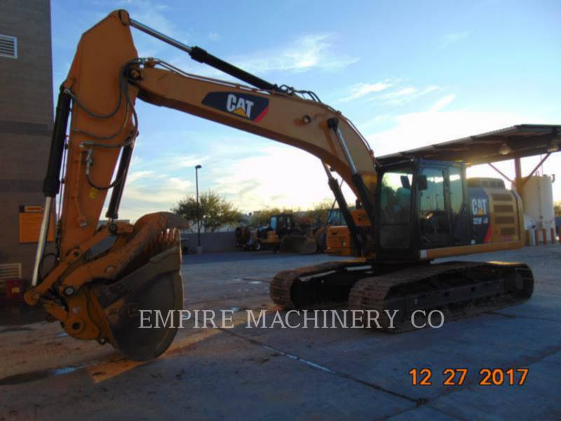CATERPILLAR ESCAVATORI CINGOLATI 329FL TH P equipment  photo 4