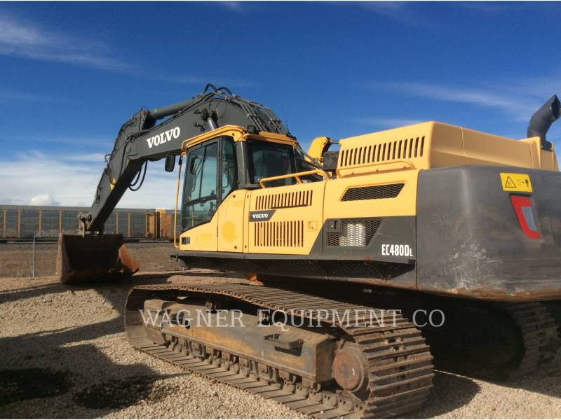 VOLVO EXCAVADORAS DE CADENAS EC480DL equipment  photo 2