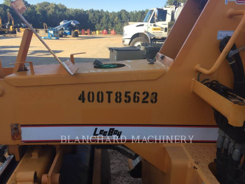 LEE-BOY VIBRATORY SINGLE DRUM ASPHALT 400T equipment  photo 3