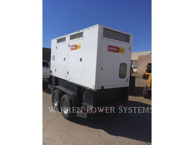 NORAM PORTABLE GENERATOR SETS N150 equipment  photo 2