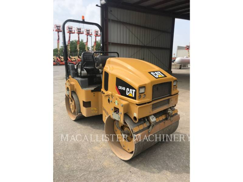 CATERPILLAR COMPATTATORE PER ASFALTO A DOPPIO TAMBURO VIBRANTE CB34B equipment  photo 1