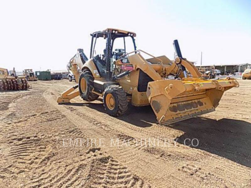 CATERPILLAR バックホーローダ 450F 4EOMP equipment  photo 1