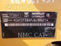 CATERPILLAR WHEEL LOADERS/INTEGRATED TOOLCARRIERS IT38H equipment  photo 1