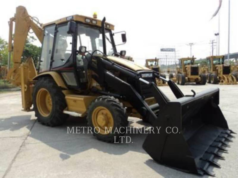 CATERPILLAR RETROESCAVADEIRAS 428C equipment  photo 4