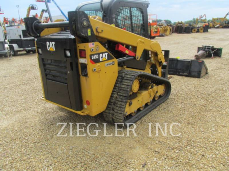 CATERPILLAR PALE CINGOLATE MULTI TERRAIN 249D equipment  photo 2